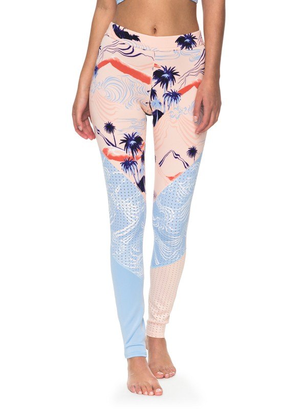 0 Pop - Leggings de surf para Mujer Naranja ERJWR03161 Roxy