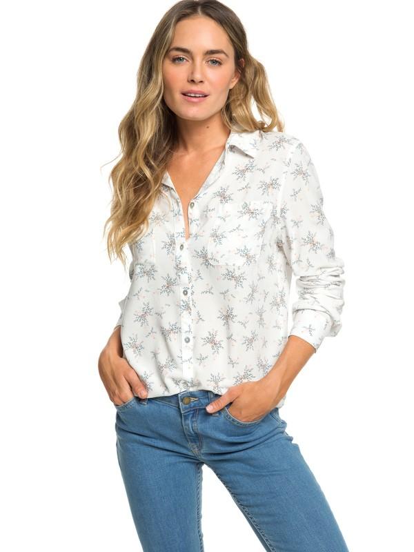 0 Setai Miami Long Sleeve Shirt White ERJWT03302 Roxy