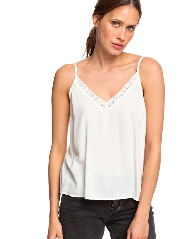 0 Positano Chill - Haut à bretelles pour Femme Blanc ERJWT03337 Roxy