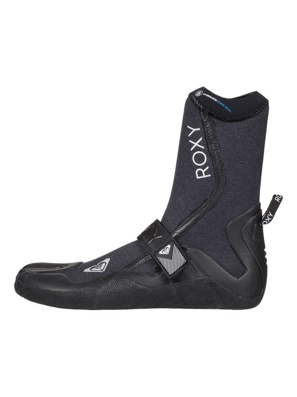 0 Performance 3mm - Split Toe Surf Boots Black ERJWW03000 Roxy