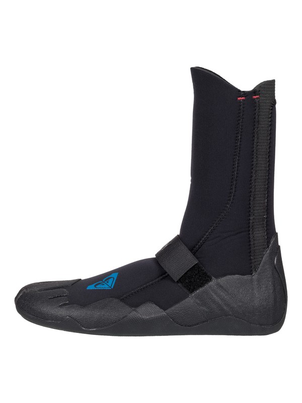 0 5mm Syncro Round Toe Surf Boots Black ERJWW03004 Roxy