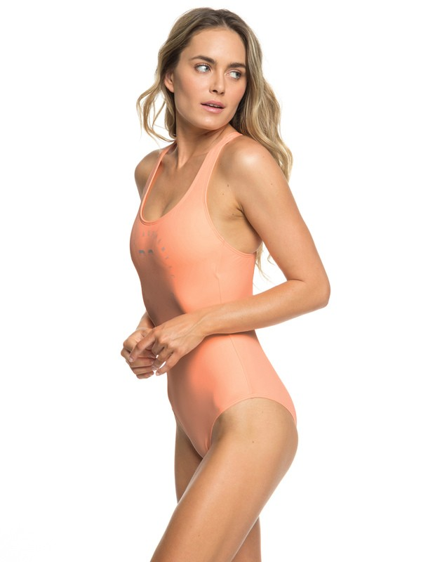 0 ROXY Fitness - Maillot de bain une pièce pour Femme Rose ERJX103168 Roxy