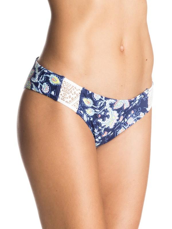 0 Flower Game Surfer Bikini Bottoms  ERJX403076 Roxy