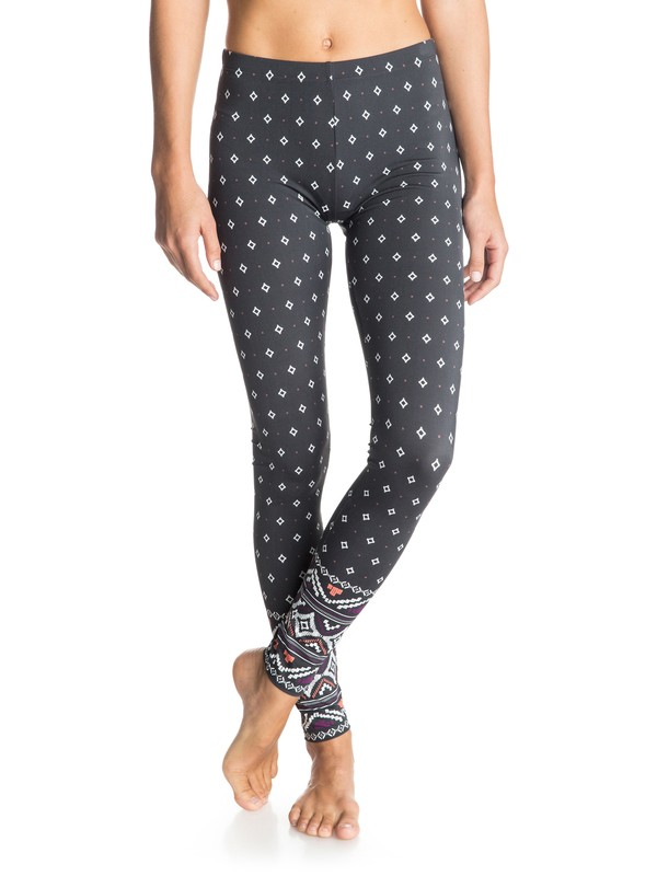 0 ROXY Boho - Surf Leggings Black ERJX403083 Roxy
