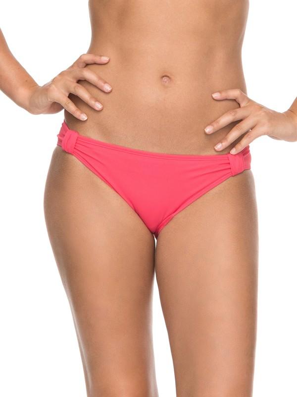 0 ROXY Essentials - 70s Bikini Bottoms for Women Pink ERJX403468 Roxy