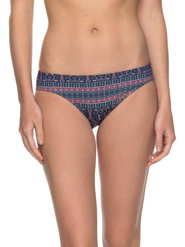 0 Sun, Surf And ROXY - Mutandina Bikini 70s Multicolor ERJX403518 Roxy
