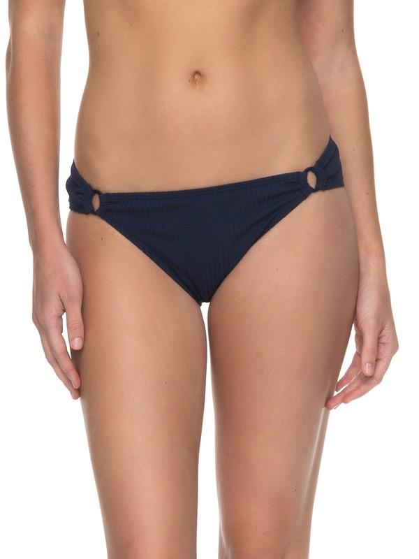 0 Waves Only - 70s Bikini Bottoms for Women Blue ERJX403519 Roxy