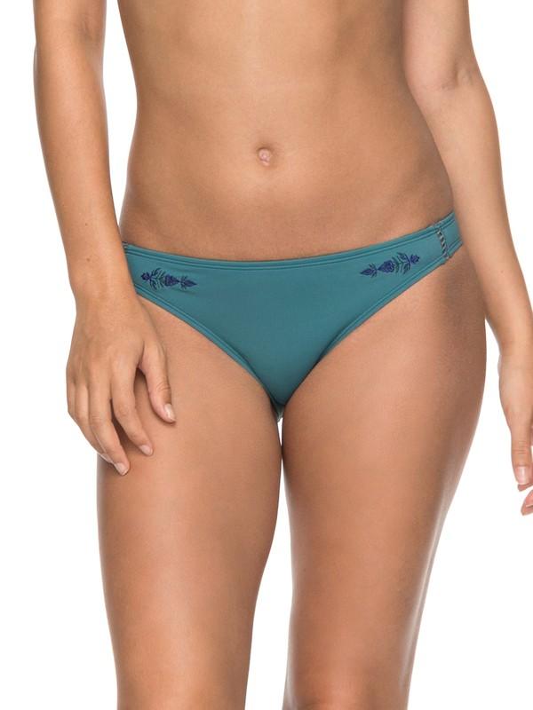 0 Salty ROXY Surfer Bikini Bottoms  ERJX403524 Roxy