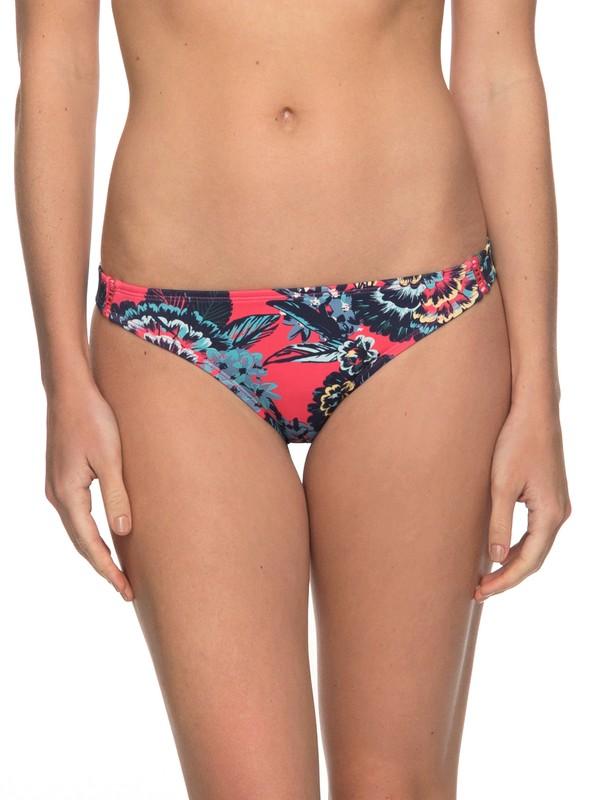 0 Salty ROXY Surfer Bikini Bottoms Multicolor ERJX403524 Roxy