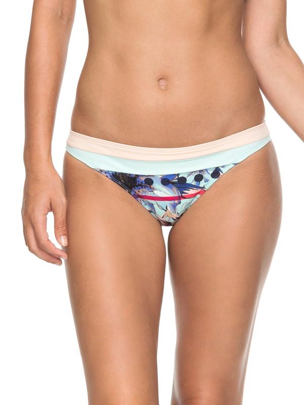 0 POP Surf - Mini Bikini Bottoms for Women Blue ERJX403551 Roxy