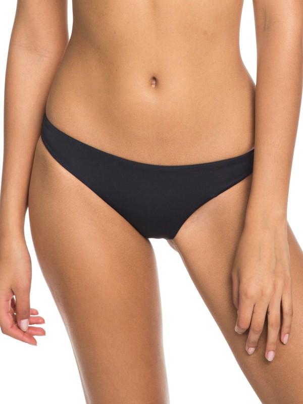0 Softly Love Moderate Bikini Bottoms Black ERJX403605 Roxy