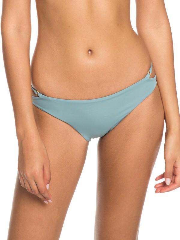 0 Softly Love Regular Bikini Bottoms Blue ERJX403606 Roxy