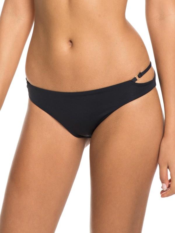 0 Softly Love Regular Bikini Bottoms Black ERJX403606 Roxy