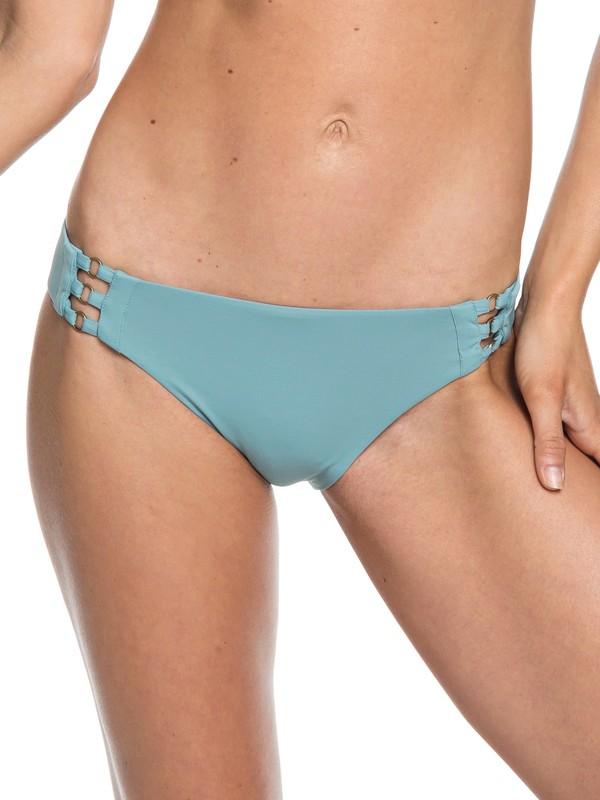 0 Softly Love Full Bikini Bottoms Blue ERJX403607 Roxy