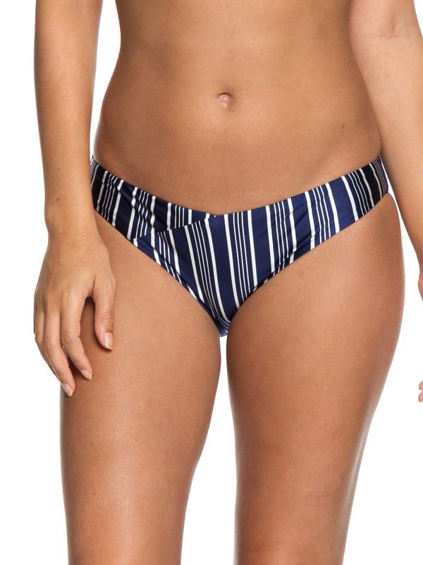 0 Urban Waves Moderate Bikini Bottoms Blue ERJX403620 Roxy