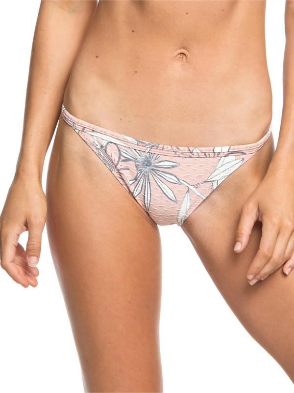 0 H And K - Mini Bikini Bottoms for Women Pink ERJX403638 Roxy