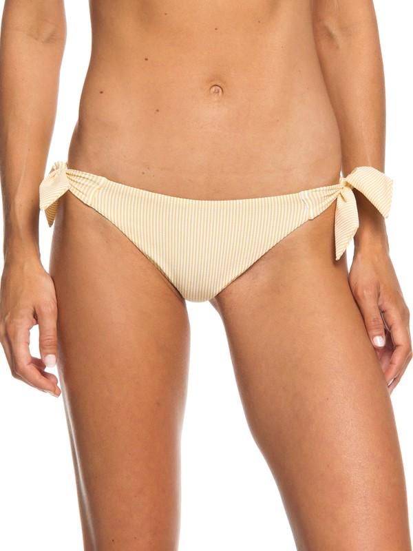 0 Bali Dreamers Mini Bikini Bottoms Yellow ERJX403673 Roxy