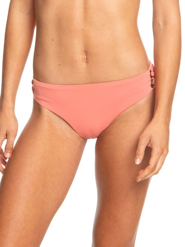 0 Beach Classics Full Bikini Bottoms Pink ERJX403676 Roxy
