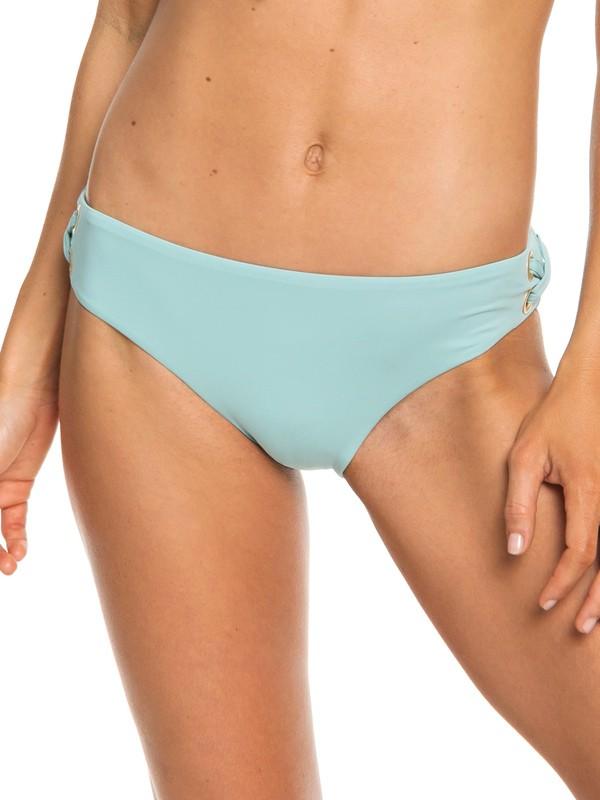 0 Beach Classics Full Bikini Bottoms Blue ERJX403676 Roxy