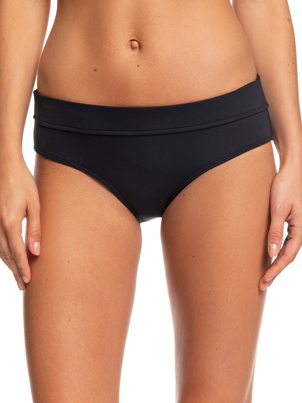 0 Beach Classics - Braguita de Bikini tipo Short para Mujer Negro ERJX403680 Roxy