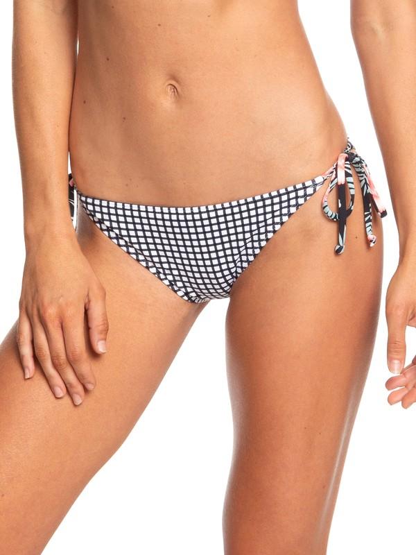 0 Beach Classics - Braguita de Bikini con Lazadas Laterales Ajustables para Mujer Blanco ERJX403682 Roxy