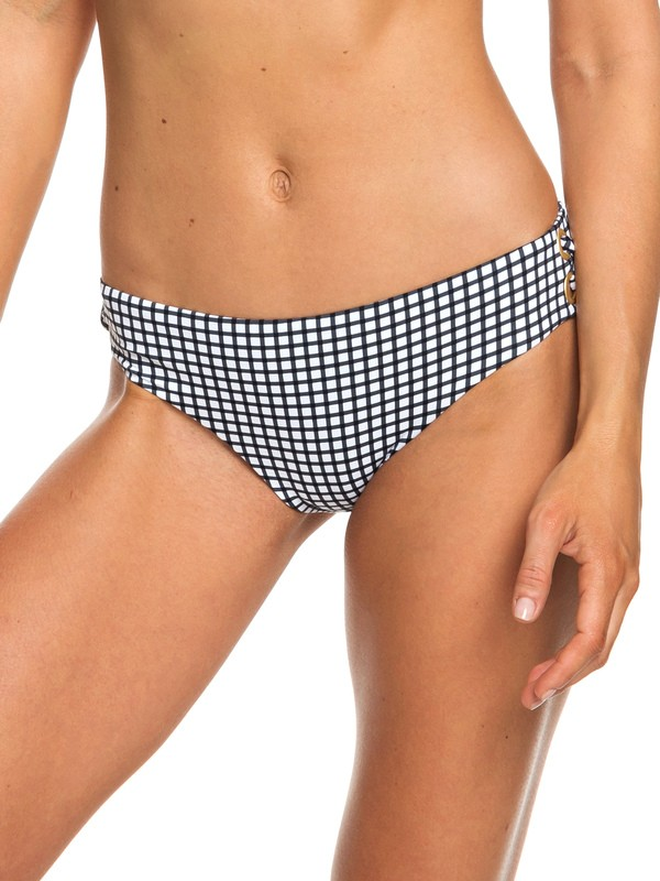 0 Beach Classics Full Bikini Bottoms White ERJX403684 Roxy