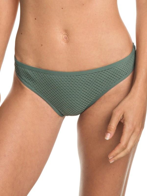 0 Garden Summers - Braguita de Bikini Discreta para Mujer Verde ERJX403690 Roxy