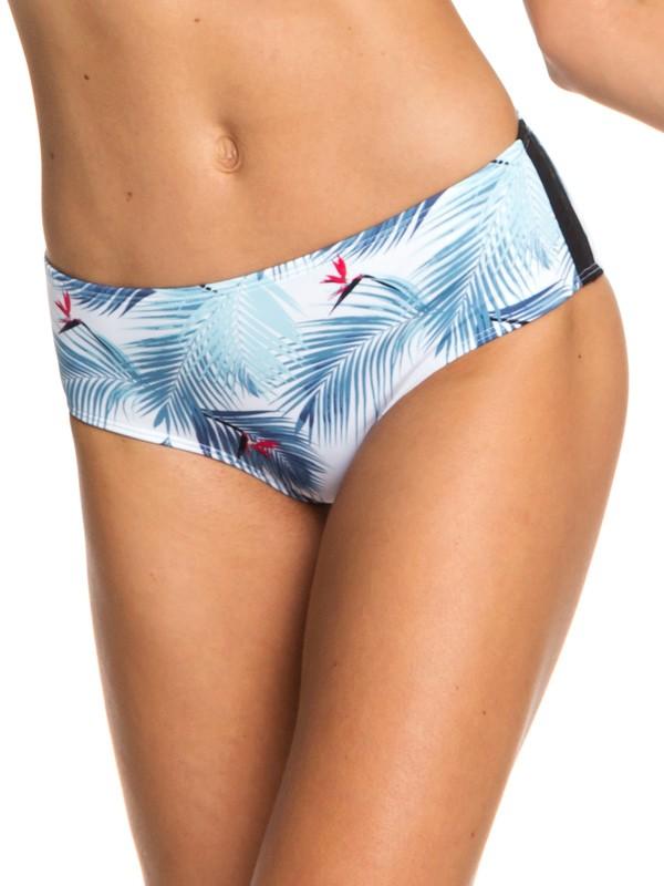 0 ROXY Fitness - Shorty-Bikiniunterteil für Frauen Weiss ERJX403692 Roxy