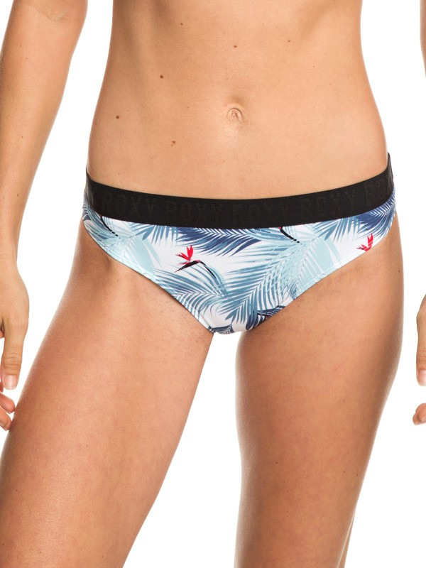 0 ROXY Fitness - Volles Bikiniunterteil für Frauen Weiss ERJX403693 Roxy