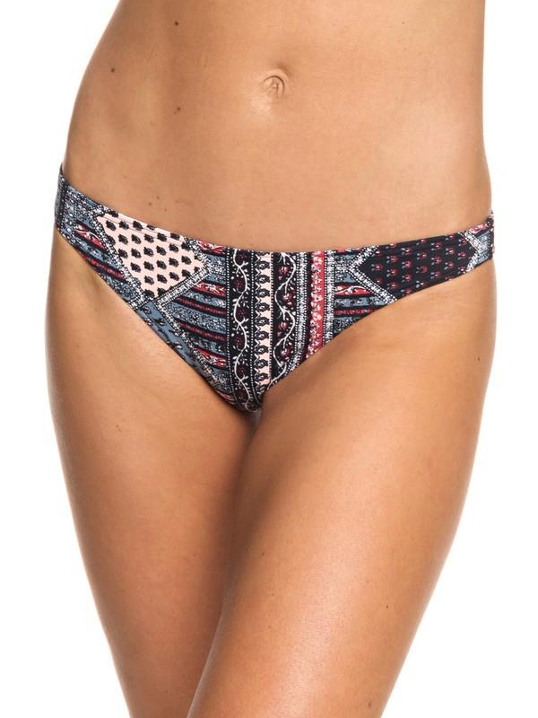 0 Romantic Senses - Braguita de Bikini de Cobertura Moderada para Mujer Negro ERJX403700 Roxy