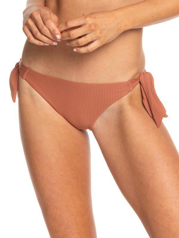0 Sister Mini Bikini Bottoms Brown ERJX403719 Roxy