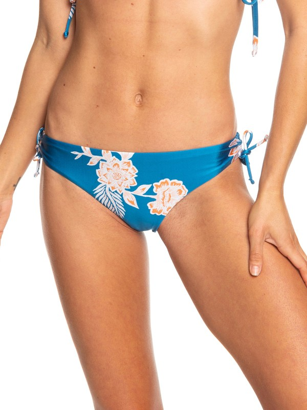 0 Parte Inferior de Bikini Mini Riding Moon Azul ERJX403735 Roxy