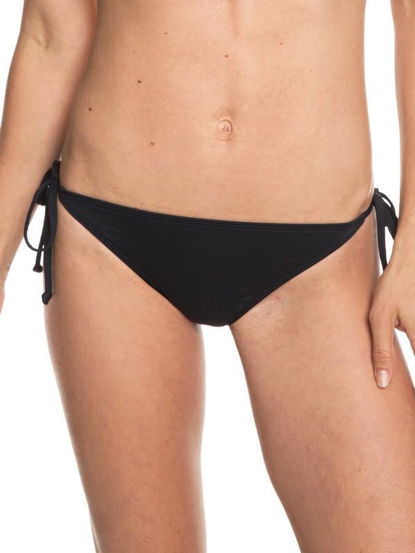 0 Beach Classics - Braguita de Bikini con Lazadas Laterales Ajustables para Mujer Negro ERJX403766 Roxy