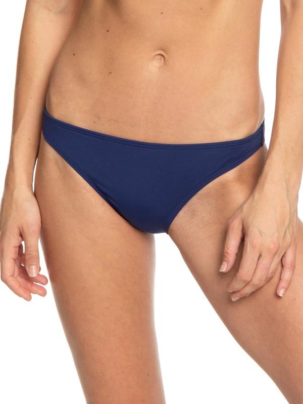 0 Beach Classics - Braguita de Bikini de Cobertura Moderada para Mujer Azul ERJX403767 Roxy