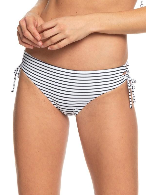 0 Printed Beach Classics Full Bikini Bottoms Black ERJX403779 Roxy