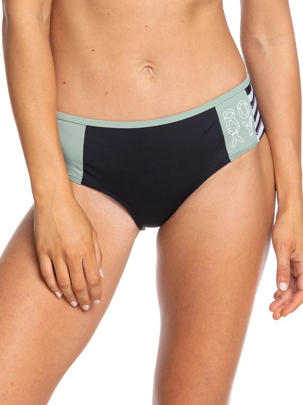 0 ROXY Fitness - Bas de bikini shorty pour Femme Noir ERJX403790 Roxy