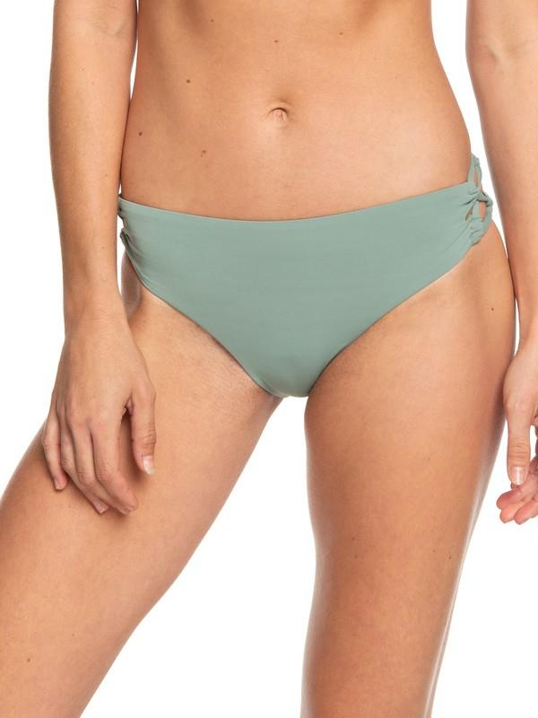 0 Beach Classics Full Bikini Bottoms Green ERJX403805 Roxy
