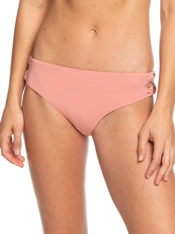 0 Beach Classics Full Bikini Bottoms Pink ERJX403805 Roxy