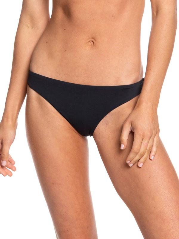 0 Beach Classics Mini Bikini Bottoms Black ERJX403808 Roxy