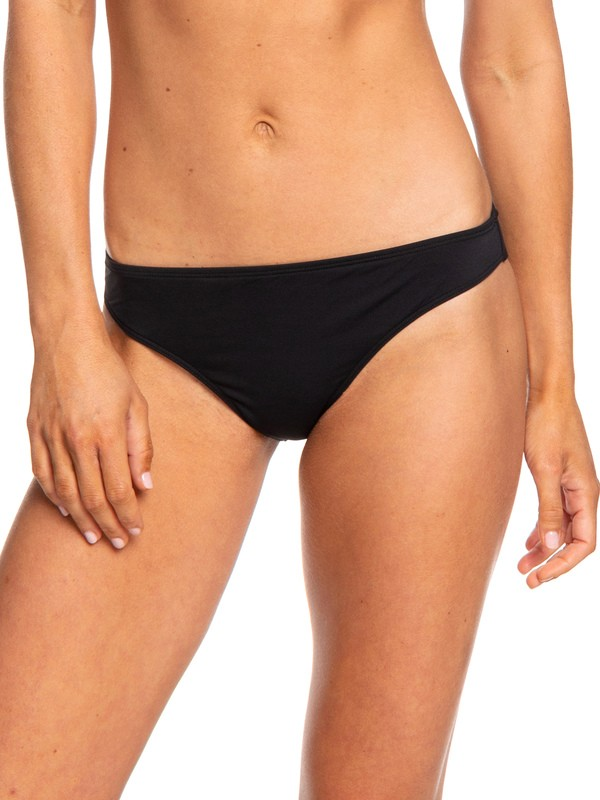 0 Beach Classics - Bas de bikini regular pour Femme Noir ERJX403835 Roxy