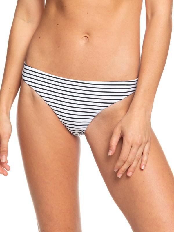 0 Printed Beach Classics Mini Bikini Bottoms Black ERJX403860 Roxy
