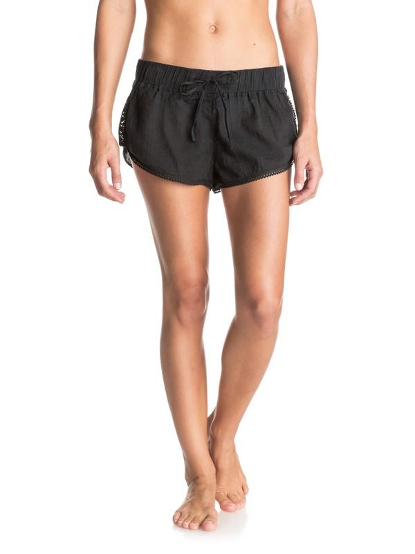 0 Soft Crochet Beach Shorts  ERJX603048 Roxy