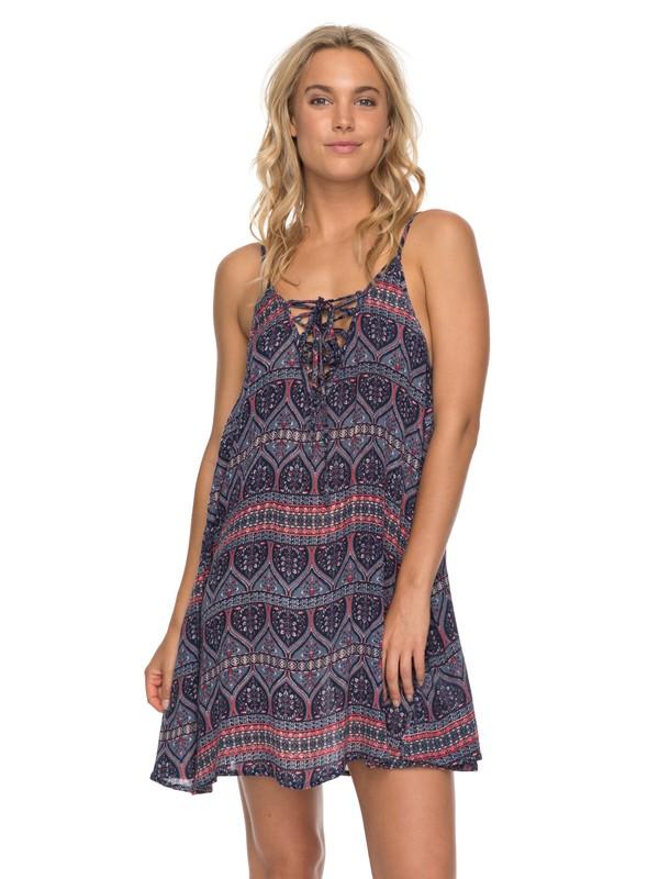 0 Softly Love - Riemchenkleid für Frauen Blau ERJX603110 Roxy