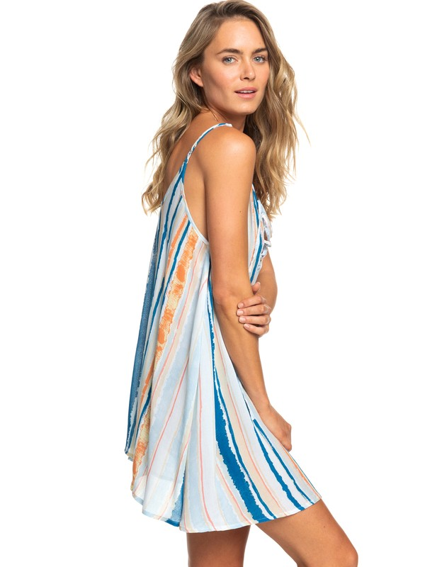 0 Softly Love Strappy Beach Dress White ERJX603138 Roxy