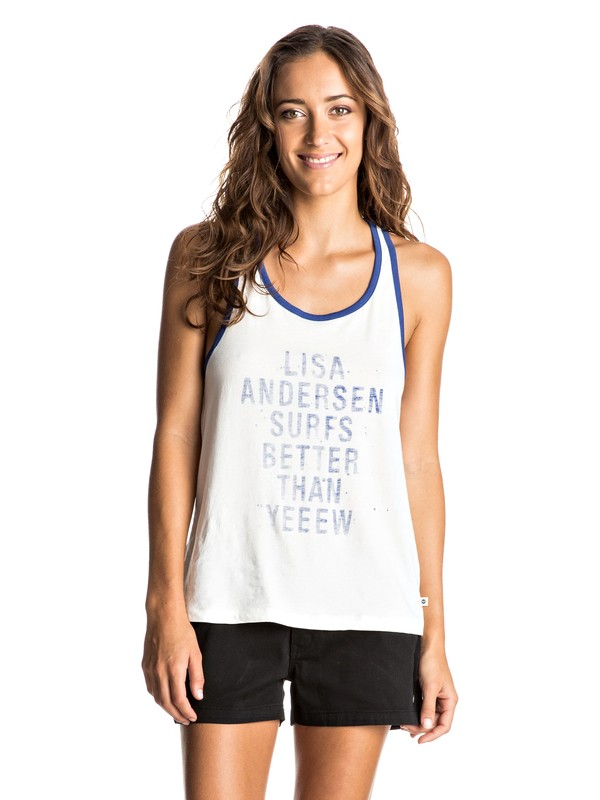0 Lisa Andersen B - Vest Top  ERJZT03990 Roxy