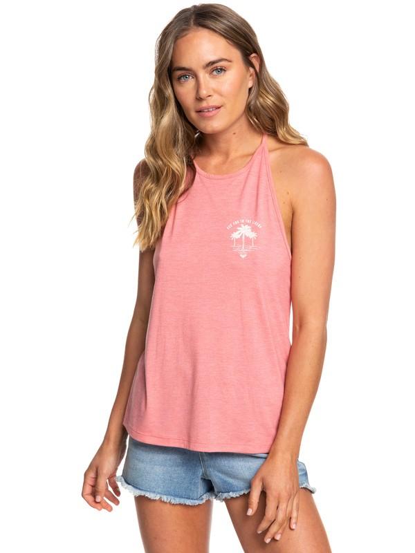 0 Sunset Valley Lace - Top con Spalline da Donna Pink ERJZT04477 Roxy