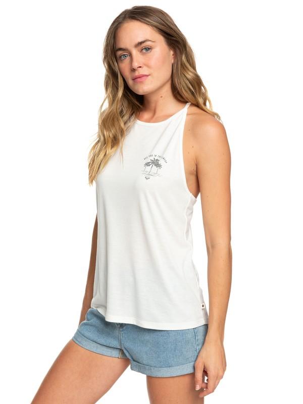 0 Sunset Valley Lace - Haut à bretelles pour Femme Blanc ERJZT04477 Roxy