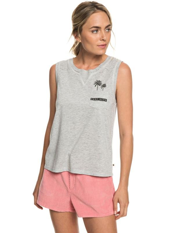 0 Feel So Right B - T-shirt sans manches pour Femme Gris ERJZT04491 Roxy