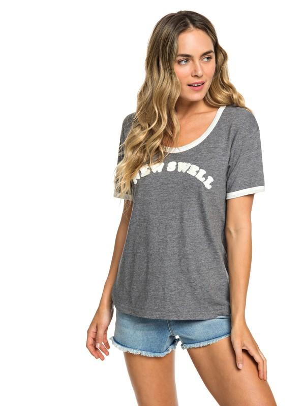 0 Camiseta Cruel Summer Negro ERJZT04492 Roxy