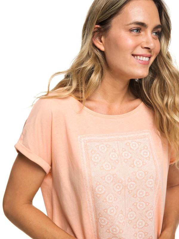 0 Summertime Happiness - T-shirt pour Femme Rose ERJZT04502 Roxy